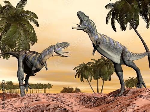 walka-dinozaurow-acasaurus-renderowanie-3d