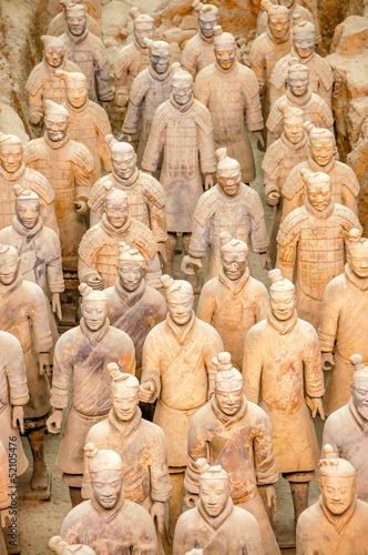 Cadres-photo bureau Xian Soldiers