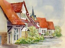 Watercolor Landscape Collectio...