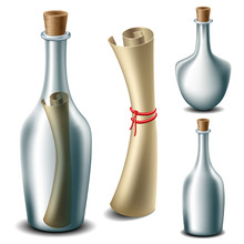 Message In The Bottle Set