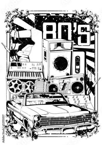 Plakaty Muzyczne Hip Hop Rock Metal