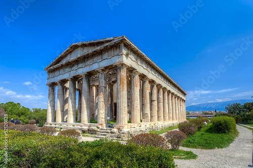 Fotomural Temple of Hephaestus,Athens,Greece
