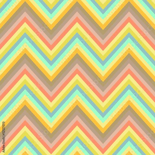Deurstickers ZigZag Seamless chevron background pattern