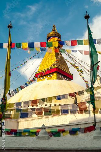 Staande foto Nepal Stupa in Bodnath