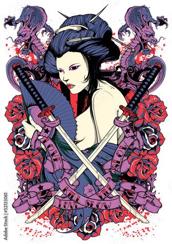 Samurai diva Poster