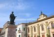 Statue of Orazio Flacco. Venosa. Basilicata. Italy.