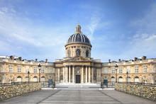 Institut De France Pont Des Arts Paris