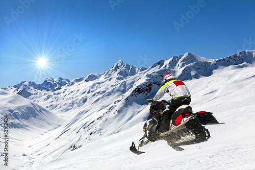 Poster Motorise motoslitta