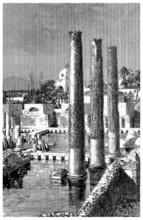 Antiquity - Ruins - Temple : Jupiter Serapis - Naples