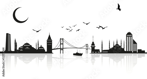 Photo İstanbul silhouette