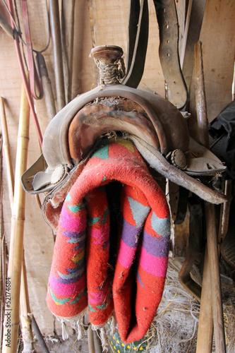 Fotografie, Obraz  Sella per cavalcare