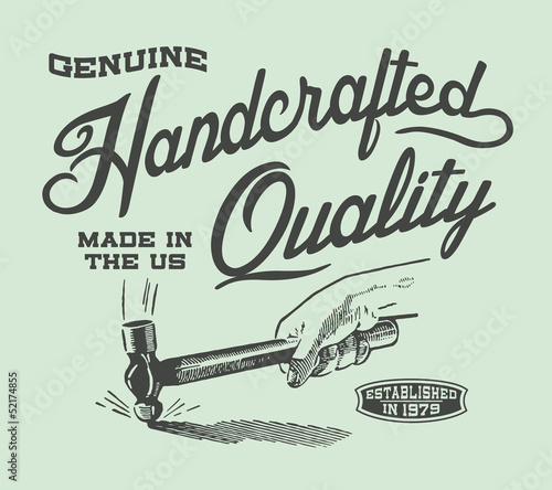Fotografie, Obraz  Genuine Handcrafted Quality