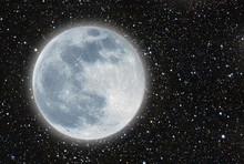 Iluminated Moon