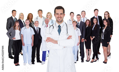 Fotografia  Professional Hospital Staff