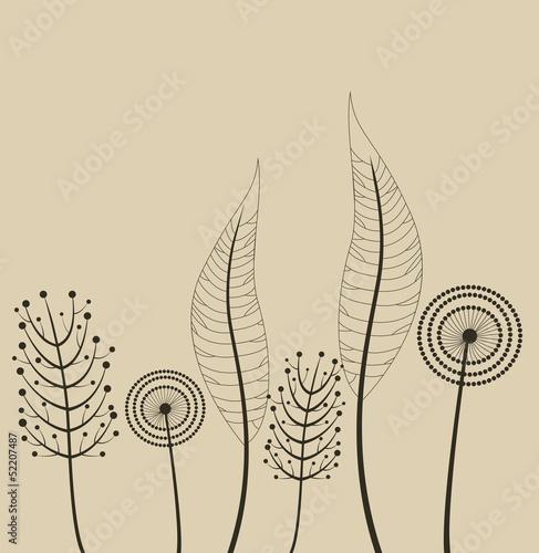 ozdoba-z-wiosennych-kwiatow-wektor