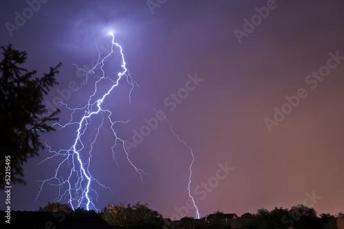 Fotografie, Obraz  Lightning