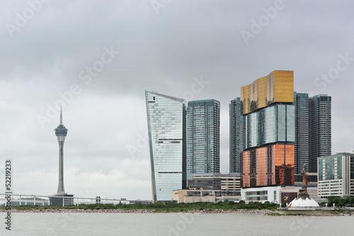 Macau city view плакат