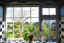 Kitchen Window With The View O...
