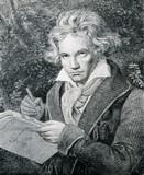 Portret niemieckiego kompozytora Beethovena - 52238259