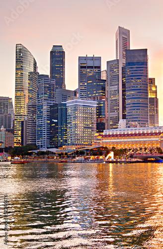 Tuinposter Singapore Colors of Singapore