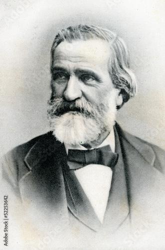 Fotografía  Portrait of italian composer Giuseppe Verdi