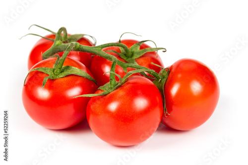 Fotografía  Branch ripe tomatoes