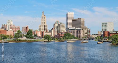Panoramic skyline of Providence, Rhode Island