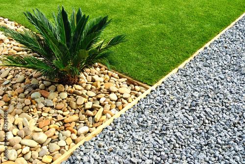 Aluminium Prints Garden Front Yard Landscape Design