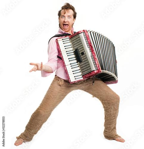 Fotografía  Crazy musician