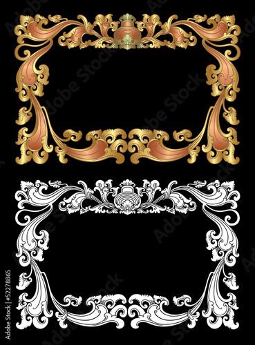 Balinese Frame Ornament 2d