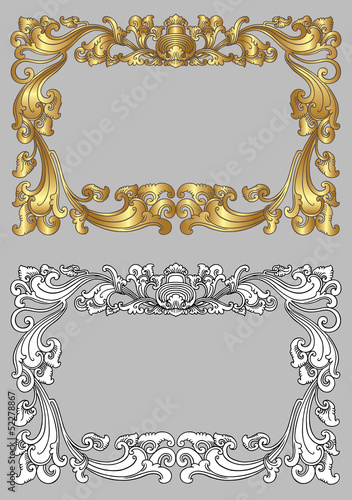 Balinese Frame Ornament 2c