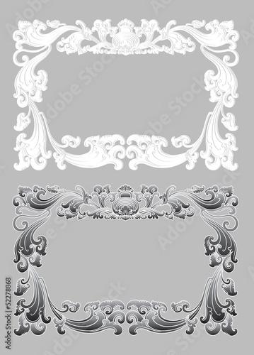 Balinese Frame Ornament 2b