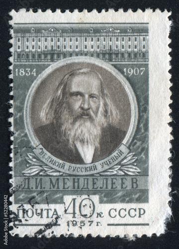 Fotografering  Dmitri Mendeleev