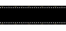 Cinema Film Strip Black Blank ...