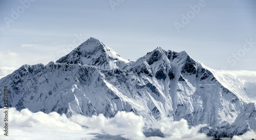 Fotografie, Obraz A close touch of the Everest