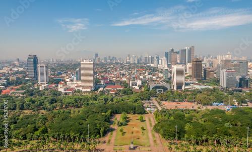 Foto op Plexiglas Indonesië Jakarta View