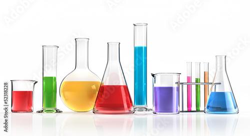 Fotomural  Bunte Chemie
