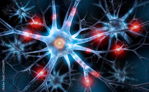 Neuronen Wallpaper Mural