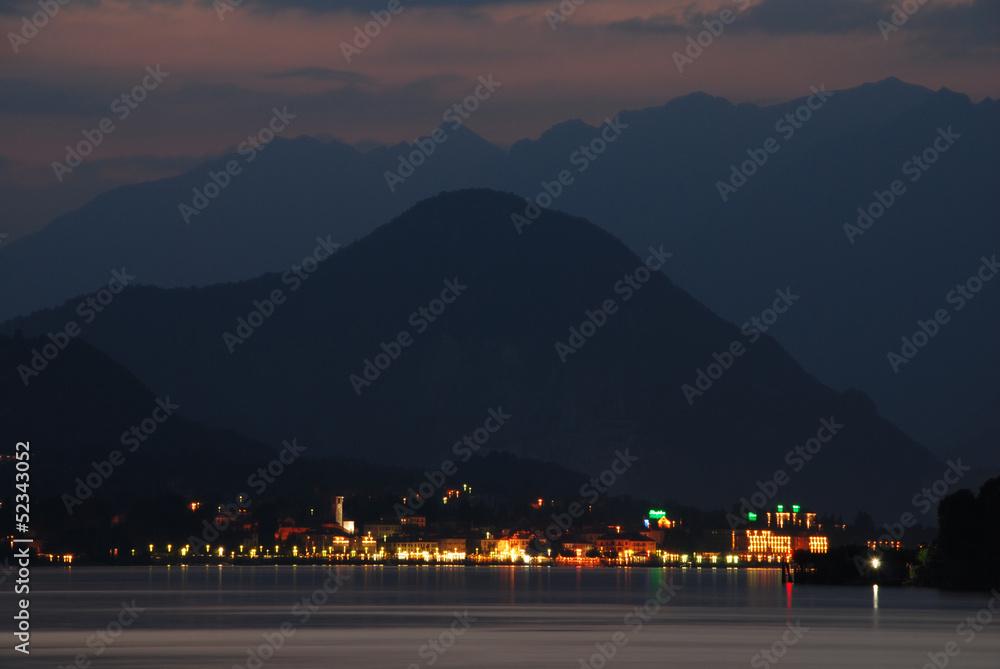 Photo  Alpes et Lac Majeur, Italie