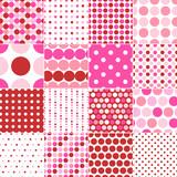 seamless polka dots print