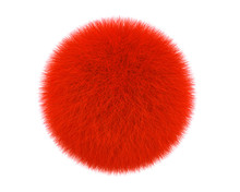Red Fur Ball