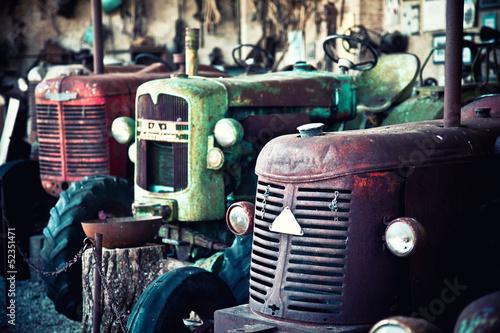 old tractor © tiero