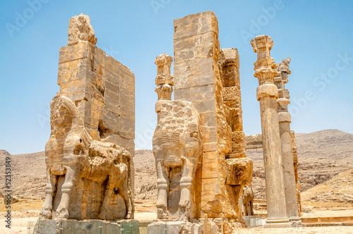 Fotografie, Obraz  Persepolis Gate