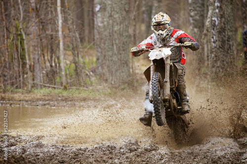 Photo sur Toile Motorise Motocross madness