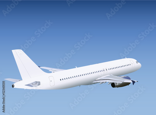 Photo airplane, aircraft, plane, airplane flying, airplane vector