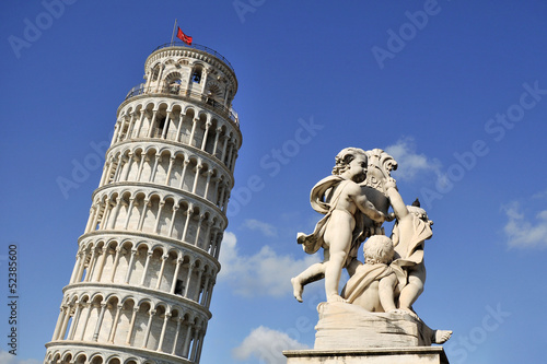Fotografie, Obraz  Leaning Tower of Pisa- Italy