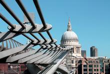 Millennium Bridge And St. Paul...