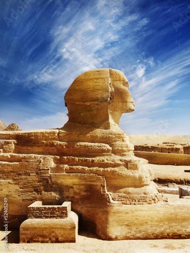 In de dag Egypte Sphinx