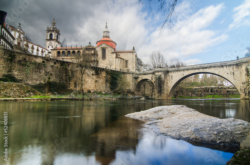 Bridge and Cathedral of Saint Goncalo