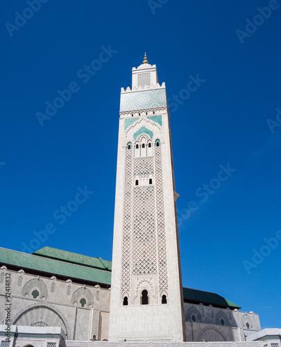 Poster Marokko Moschea di Hassan II, Casablanca, Marocco